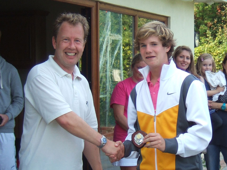 Mens Singles Champion Will Cowell