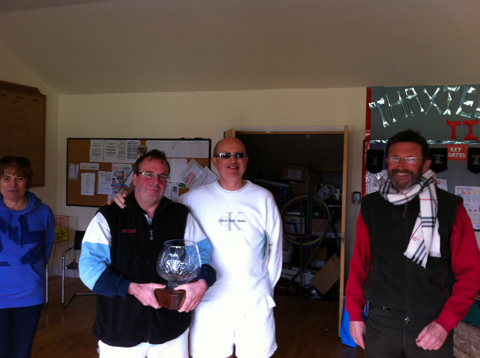 Mens Double Champions John Goulding and Stewart Harris