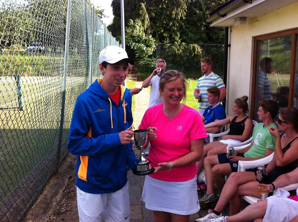 Callum Forsyth and Tracey McLaghan - Winners 2014